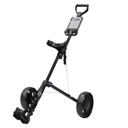 2 WHEEL TROLLEY - BLACK
