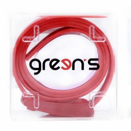 GREEN'S - CEINTURE - ROUGE