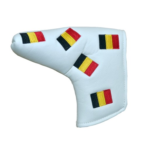 BLADE PUTTER COVER BELGIUM - WHITE