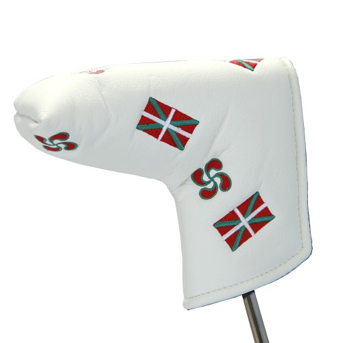 BLADE PUTTER COVER BASQUE - WHITE