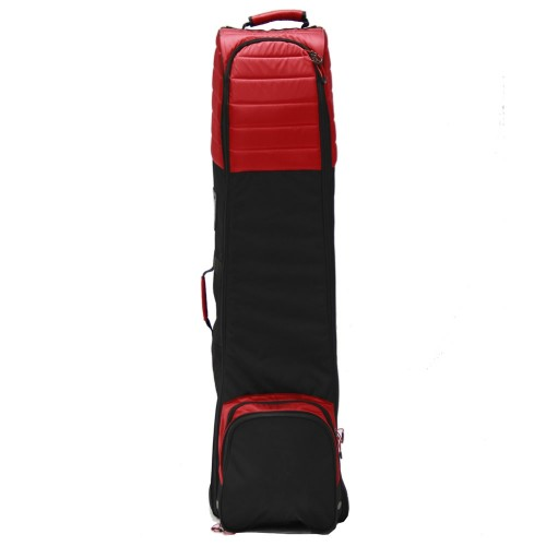 COVER 1/2 SET PADDED - BLACK/RED