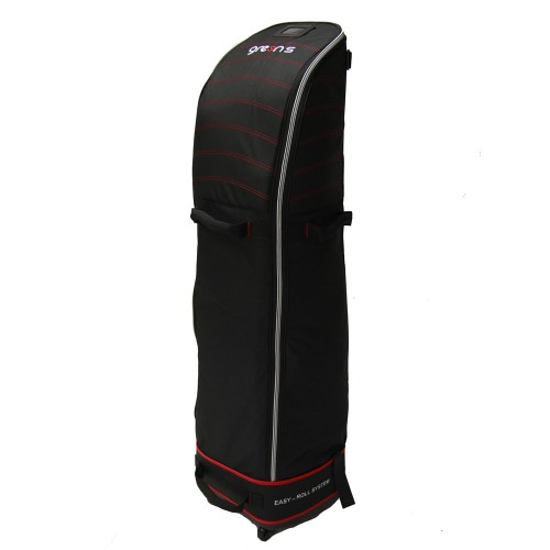 TRAVEL Cover 4 WHEELS - BLACK/RED