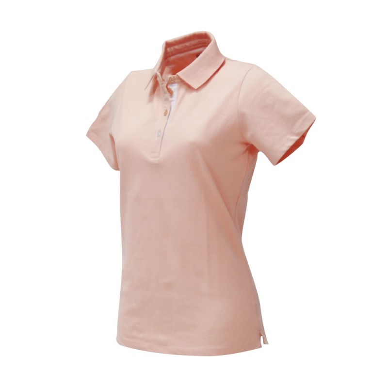 WOMEN'S AMELIE POLO PINK