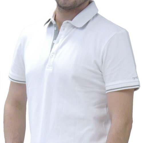 AMOS POLO WHITE
