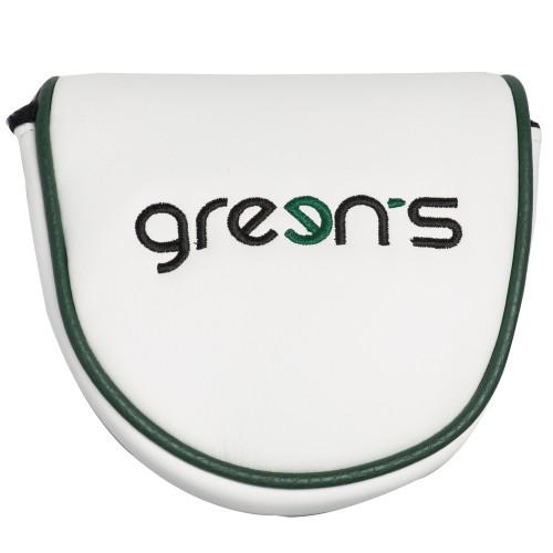 GREEN'S - CAPUCHON PUTTER MALLET - VERT/BLANC
