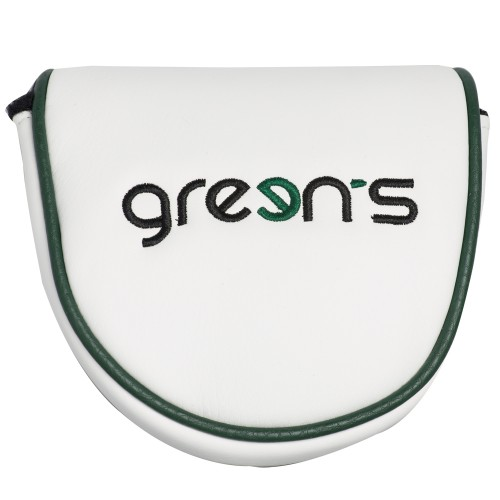 MALLET PUTTER COVER GREEN -