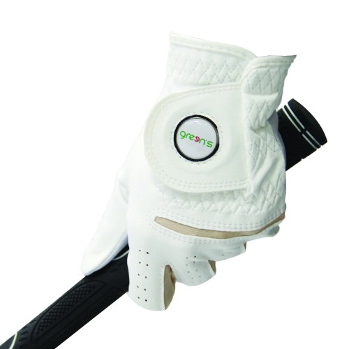 WOMEN'S SYNTHETIC GLOVE WHITE