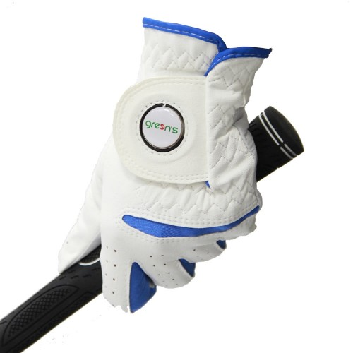 WOMEN'S SYNTHETIC GLOVE WHITE - WHITE