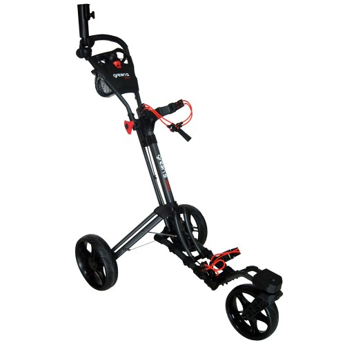GREEN'S - CHARIOT 360-3 ROUES - CHARCOAL/ROUGE