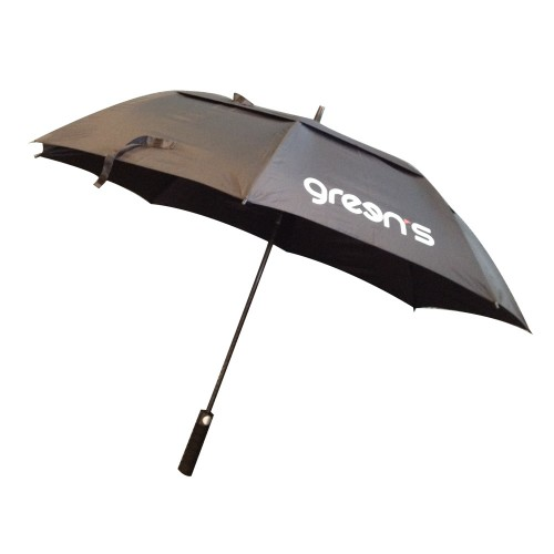 GREEN'S - PARAPLUIE PROTECTION SOLEIL - BLACK/GREY