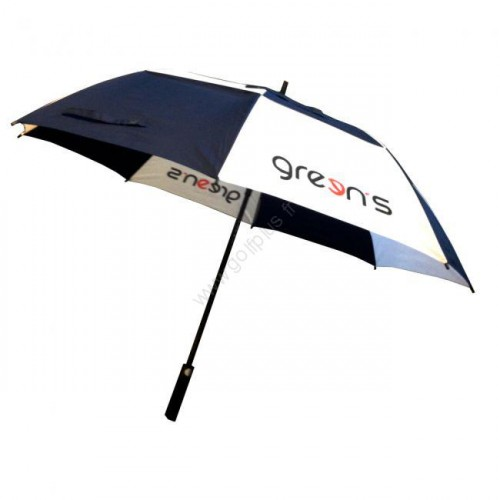GREEN'S - PARAPLUIE LOGO GREENS - NAVY/BLANC/ROUGE
