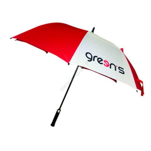 GREEN'S - PARAPLUIE LOGO GREENS - ROUGE/BLANC