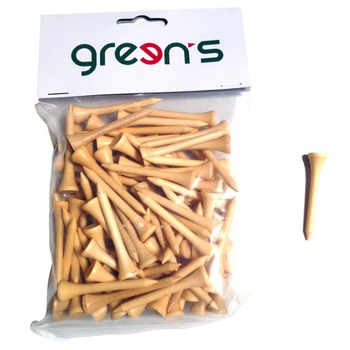 GREEN'S - 100 TEES BOIS 54MM - T.U.
