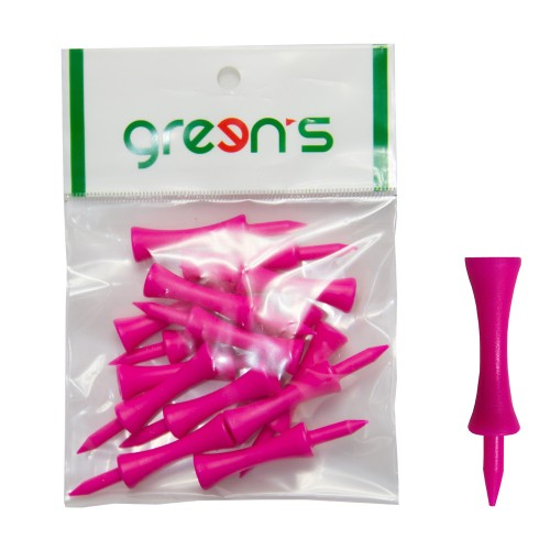 15 GROUND TEES PINK 62MM