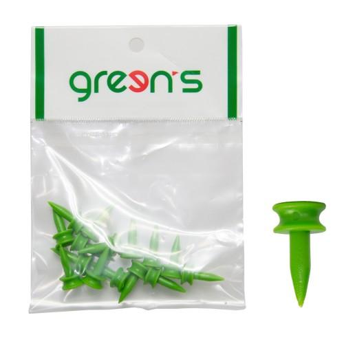 GREEN'S - 15 TEES ETAGE VERT 24MM - VERT