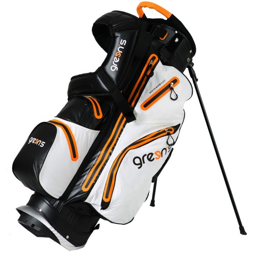 GREEN'S - SAC AQUA TREPIED - NOIR/BLANC/ORANGE