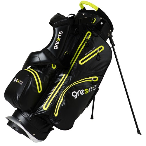AQUA STAND BAG BLACK/YELLOW - BLACK/YELLOW
