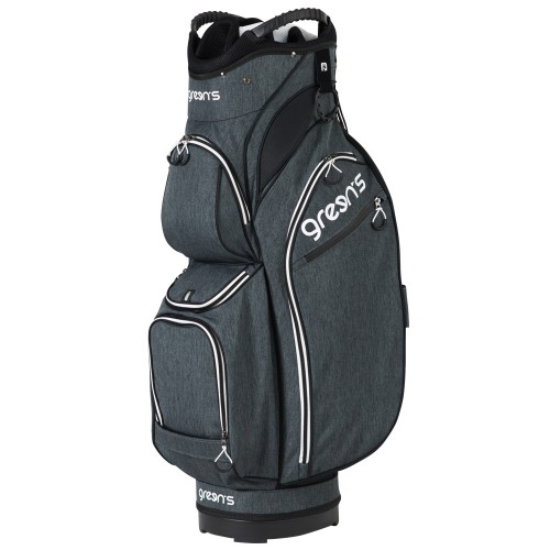 PREMIUM CART BAG GREY/WHITE - GREY/WHITE