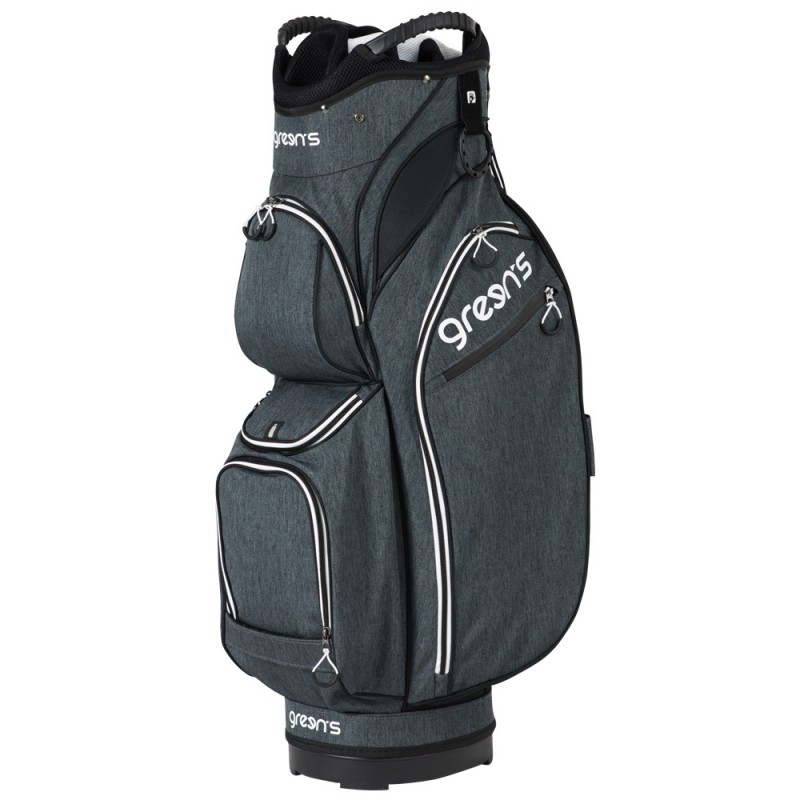 PREMIUM CART BAG GREY/WHITE