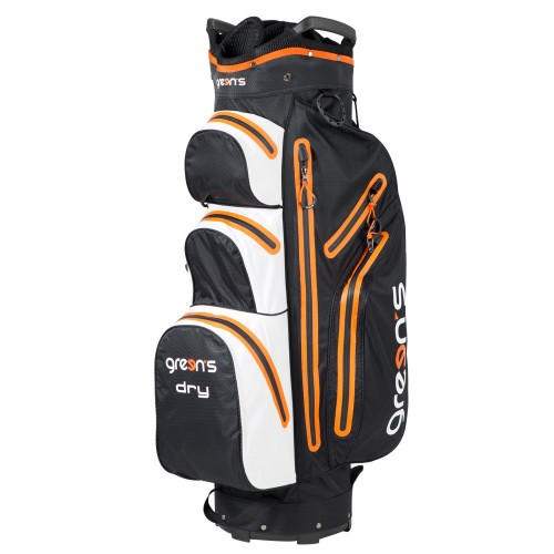 PERFORMANCE DRY CART BAG NOIR/ORANGE - BLACK/ORANGE