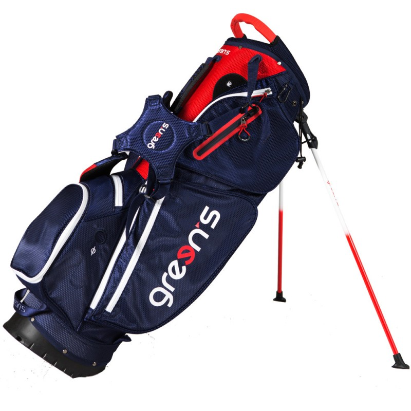 RIDER STAND BAG WHITE/BLACK/RED