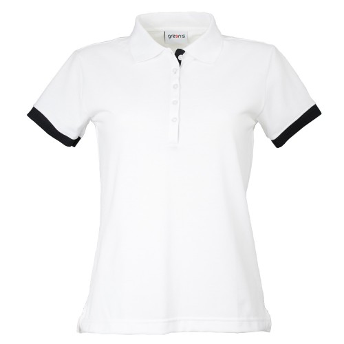 BIRDIE WOMEN'S POLO WHITE