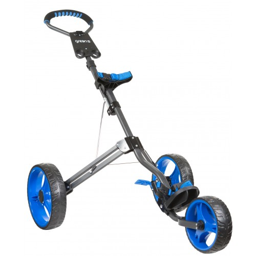 KID 3 WHEEL TROLLEY - CHARCOAL/BLUE