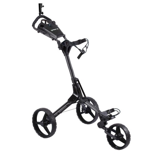 CUBIC 3 WHEEL TROLLEYS - CHARCOAL/BLACK