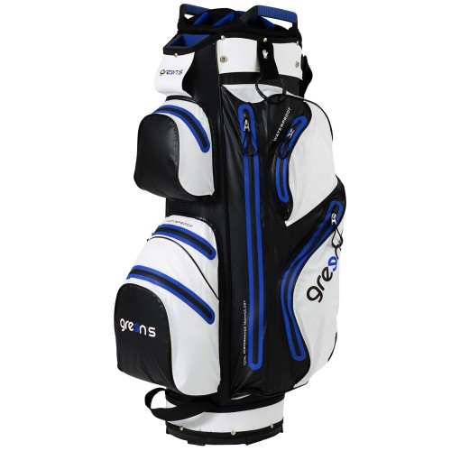 AQUA CART BAG WHITE/BLACK/GREEN