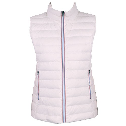 GREEN'S - GILET VICTOIRE SANS MANCHES - WHITE