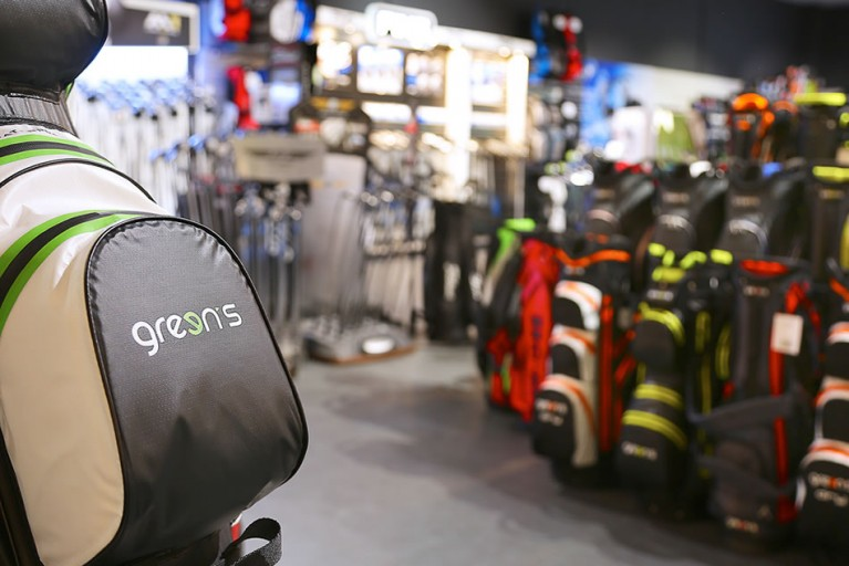 New Green's golf bags